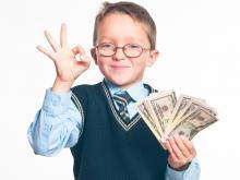 Малыш и карманные деньги