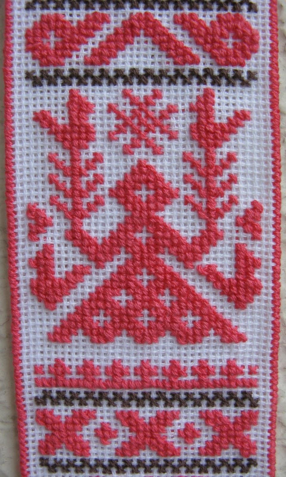 Вышивка крестом оберег рожаница 85